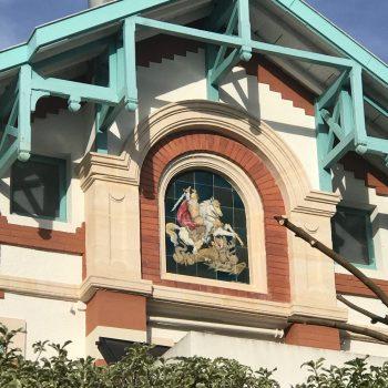 La villa Saint-Georges à Arcachon et son vitrail